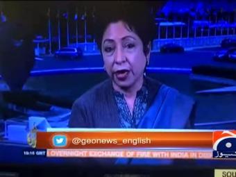 Pakistan ready to respond if provoked, Maleeha warns India.