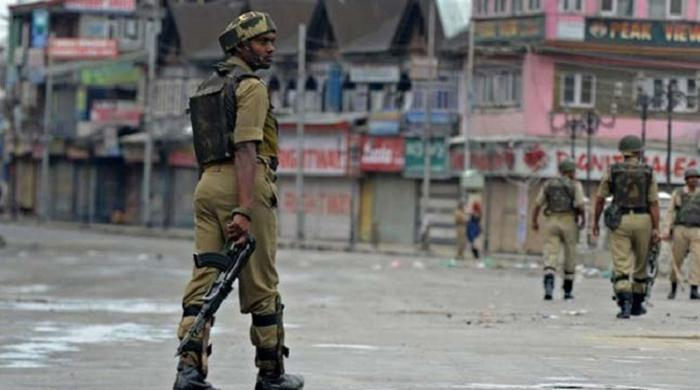 In occupied Kashmir elderly woman dies at the hands of Indian forces