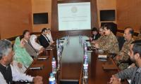 COAS expresses desire to enhance relations with parliamentarians