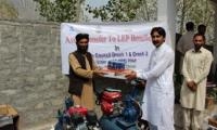 Free machinery  distributed among 62 skilled youth
