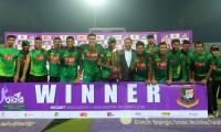 Bangladesh crush Afghanistan to win series