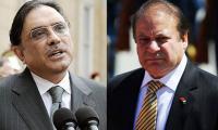 Nawaz invites Zardari to meeting of heads of parliamentary parties