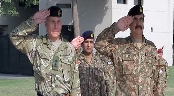 UK Chief of General Staff calls on COAS to discuss regional security
