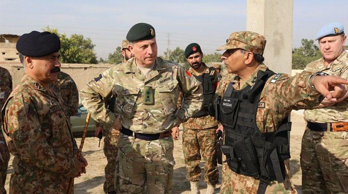 UK CGS terms Pak Army's NWA initiatives 'impressive'