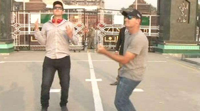 Watch these Australian Army cricketers dancing at the Wagah Border