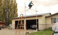 Watch: Pogo stick jump record being broken