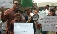 Lahore residents protest private school's 'Punjabi ban' notice
