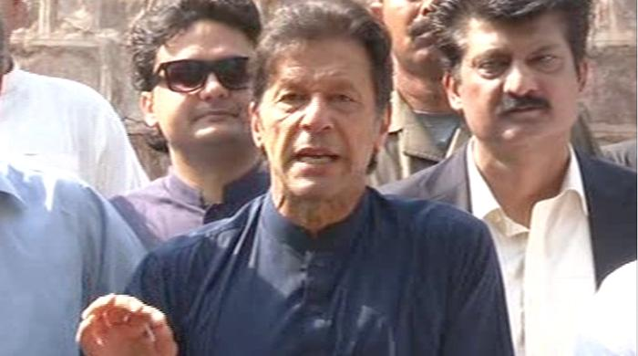 There will be no dialogue before Islamabad sit-in, says Imran