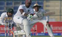 Pakistan take control of second test against West Indies