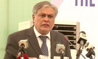 PTI chief is a frustrated man, says Finance Minister Ishaq Dar