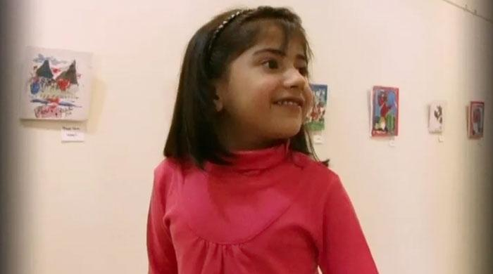 Little Wonder: Meet 4-year-old Pakistani professional artist Pareezay