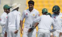 Abu Dhabi Test: Pacers strike to put Pakistan in command against WI