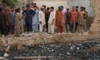 Two children die as wall collapses in Karachi