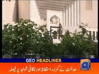 Geo Headlines 1300 24-October-2016