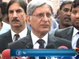 Special Report - PPP will not be part of Imran's sit-in, says Aitzaz 24-October-2016