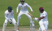 WI four down as Brathwaite falls for 67