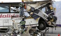 At least 13 killed, 31 injured in California tour bus crash