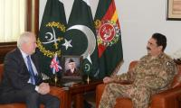 Sir Mark Lyall Grant calls on Army Chief