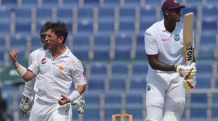Pakistan beat WI to claim series as Yasir stuns with 10 wickets