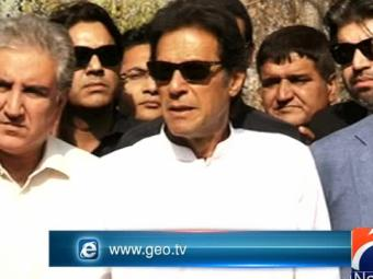 Special Report -  Imran Calls Prime Minister A 'security Risk' 25-October-2016