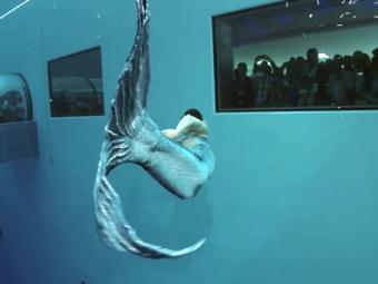 Special Report -Video: Beautiful Mermaid From World's Deepest Pool 25-October-2016