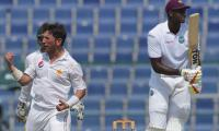 Pakistan beat WI to clinch test series as Yasir stuns with 10 wickets