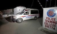 29 security personnel martyred, three terrorists killed in attack on police training centre in Quetta
