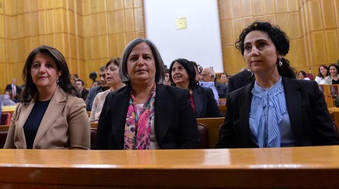 Turkey detains Diyarbakir co-mayors