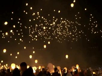 Special Report -Breathtaking scenes of lantern festival in Austin 26-October-2016
