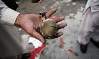 'As the bomb exploded, he was in the air and I was on the ground'
