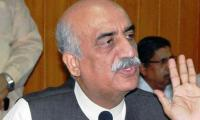 If replied to Imran then others will take benefit of situation: Khursheed Shah