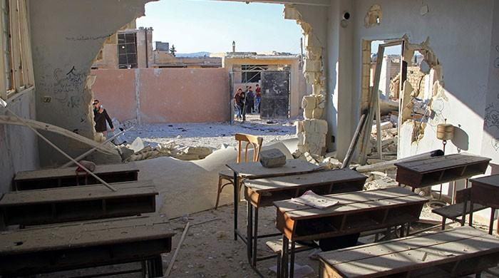 22 children killed in air strikes on Syrian school: UNICEF