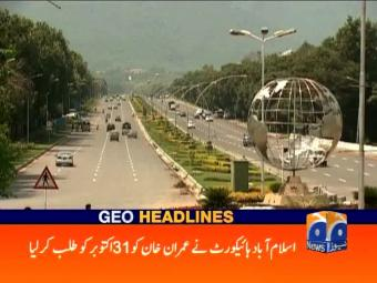 Geo Headlines 1600 27-October-2016