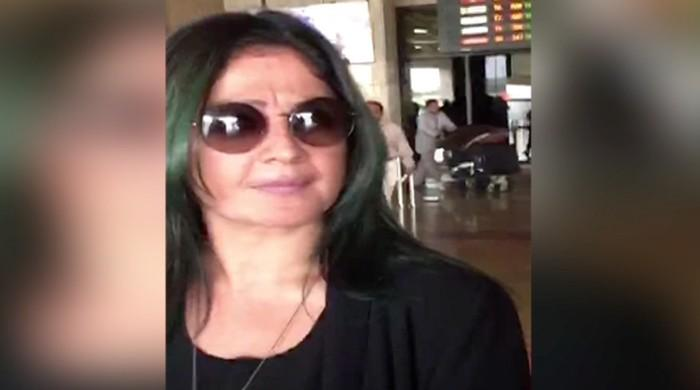 Pooja Bhatt arrives in Karachi for personal visit