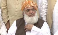 Fazl slams Imran Khan, says thieves cause biggest uproar