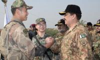 Pakistan-China joint exercises to consolidate bilateral ties, says COAS