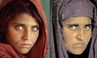Afghan govt contacts Pakistan for Nat Geo green-eyed girl's release