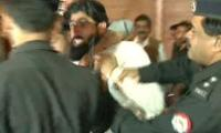 Police round up two political workers from outside Lal Haveli