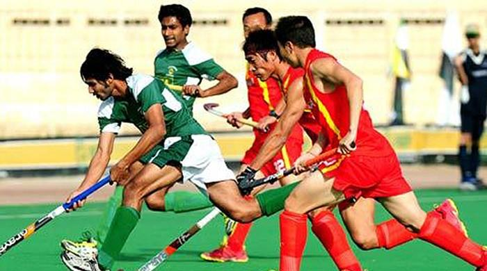 Pakistan reach semi-finals of Asian Hockey Championship 2016