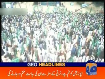 Geo Headlines 1200 28-October-2016