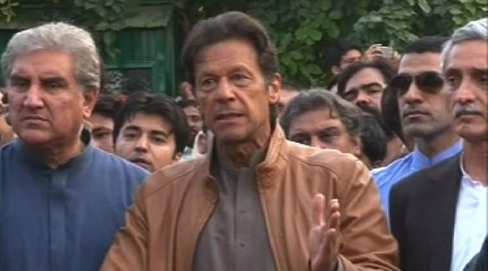 Imran says tsunami on Nov 2 cannot be stopped as PTI workers, police clash in Bani Gala
