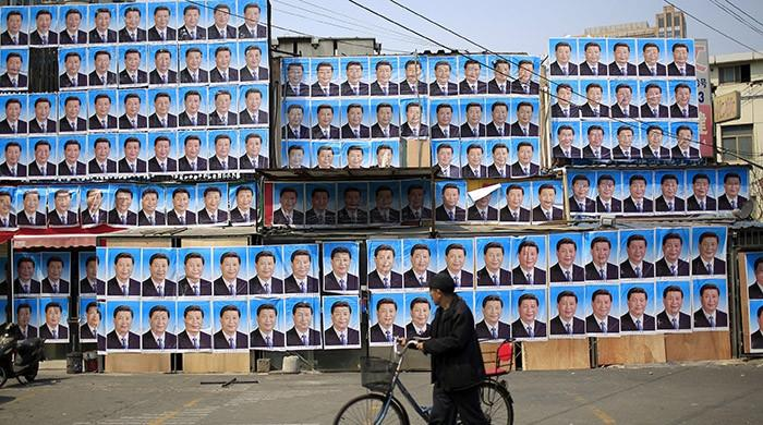 All hail the mighty uncle - Chinese welcome Xi as the 'core'