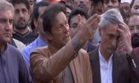 Imran's sarcastic response to slapping of TV cameraman