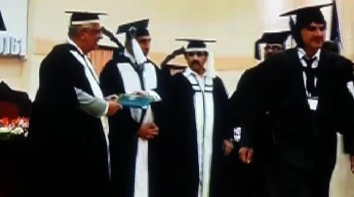 Student refuses to accept degree from KP Governor