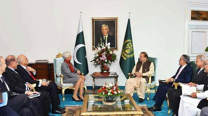 IMF congratulates PM on Pakistan's economic achievements