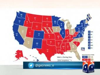 What are swing states?