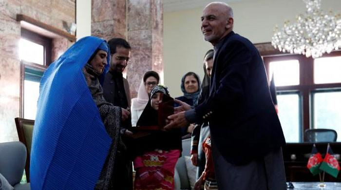 Kabul welcomes back National Geographic's green-eyed 'Afghan Girl'