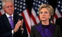 Clinton concedes election, urges open mind on Trump