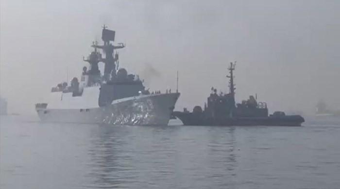 Chinese warships arrive in Pak waters for joint exercises