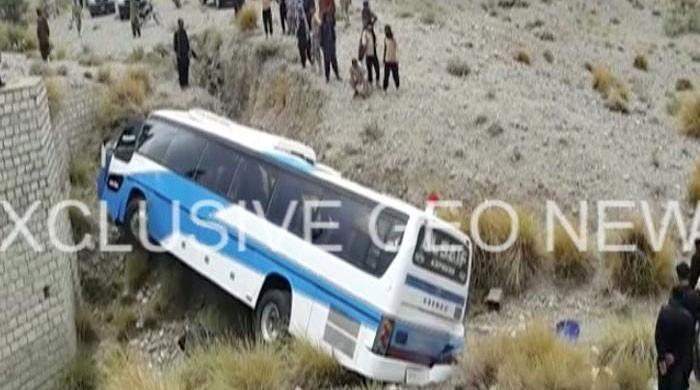 Eight die as passenger bus falls into ravine in Talagang